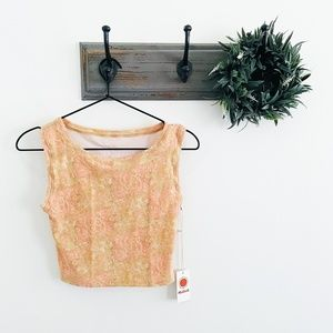 NWT Mollusk Cropped Surf Tank S